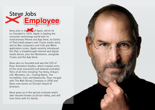 biography steve jobs Jobs legally altered her birth certificate, changing her name from lisa brennan to lisa brennan-jobs walter isaacson's 2011 authorized biography steve jobs.
