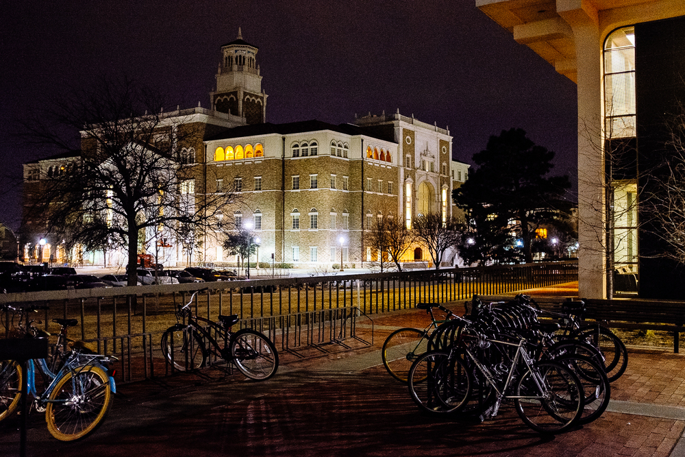 Texas Tech University   Fujifilm X100s, f/2, 1/25, ISO 6400