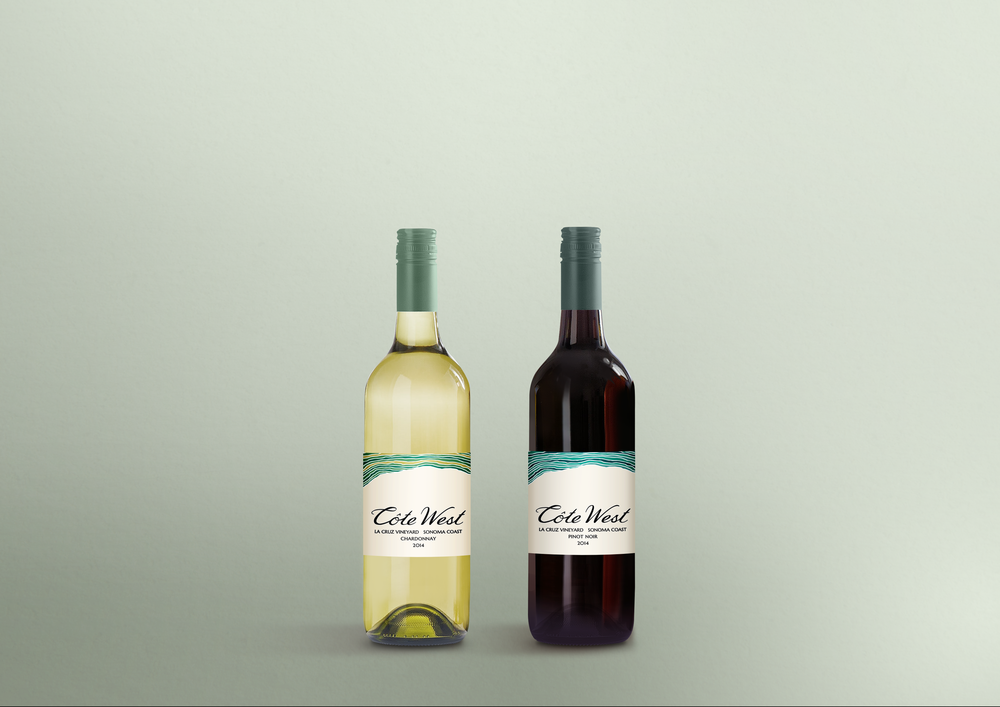 Wine labels for Côte West