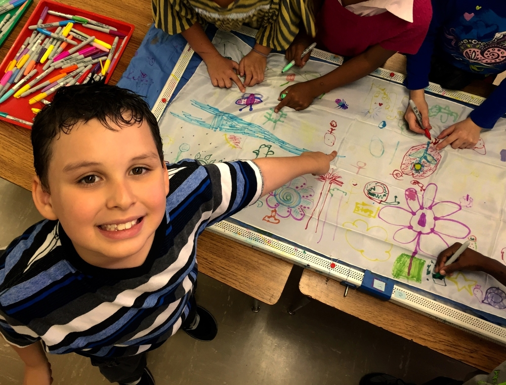 WE THE PEOPLE: Bloomerang at Quincy Elementary