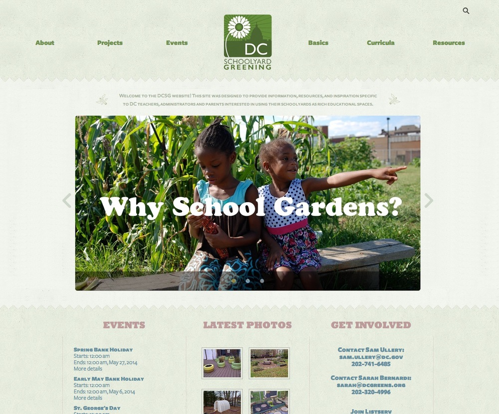 DC Schoolyard Greening