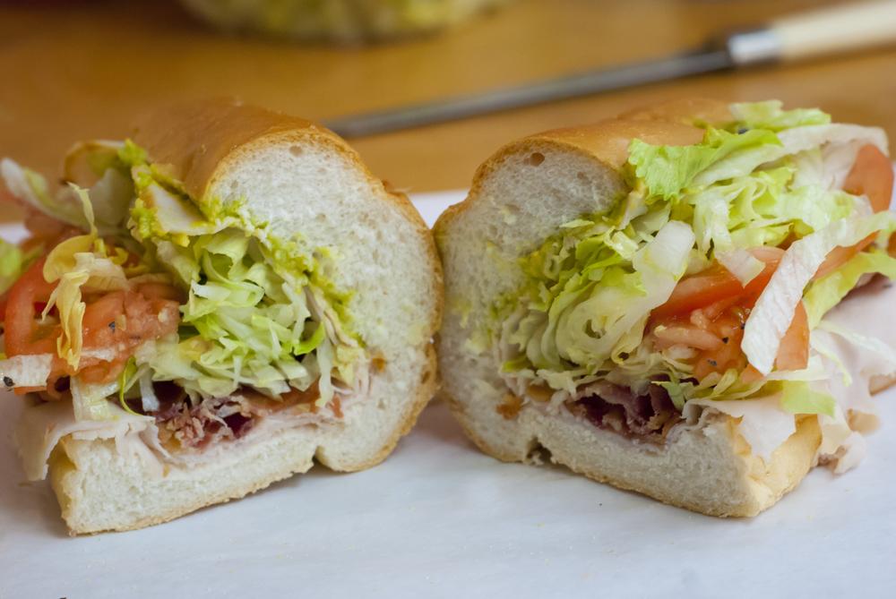 Guac Star: Roast Beef, Swiss, Guac & Onions