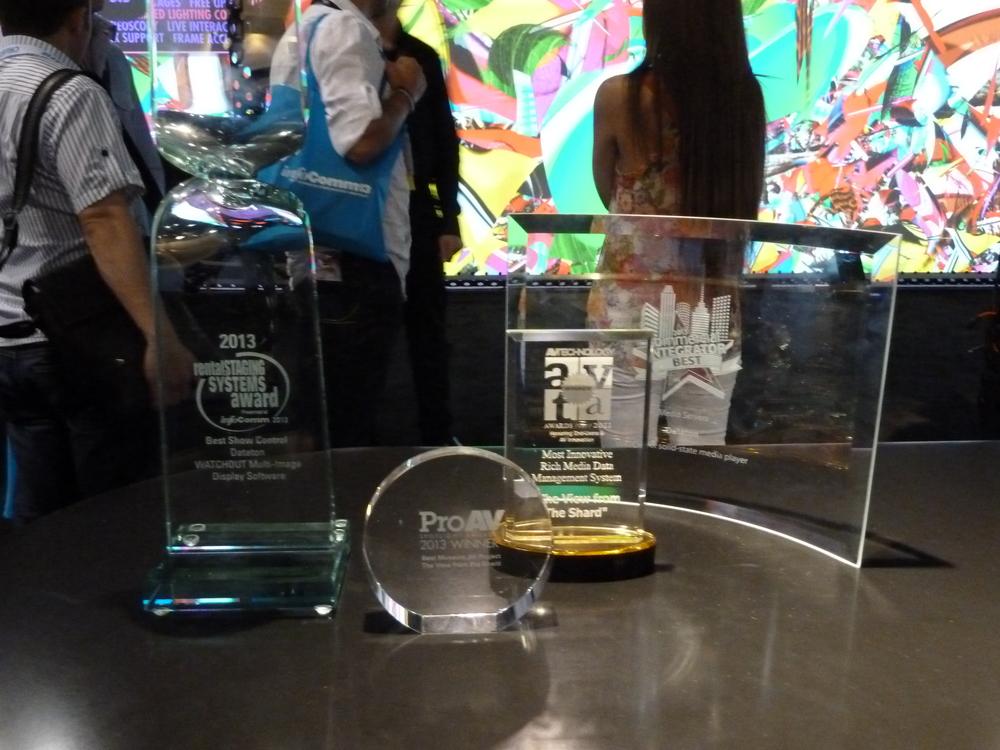 Dataton Awards Trophies.JPG