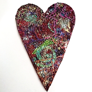 Tempered Glass Mosaic By Heidi Borchers