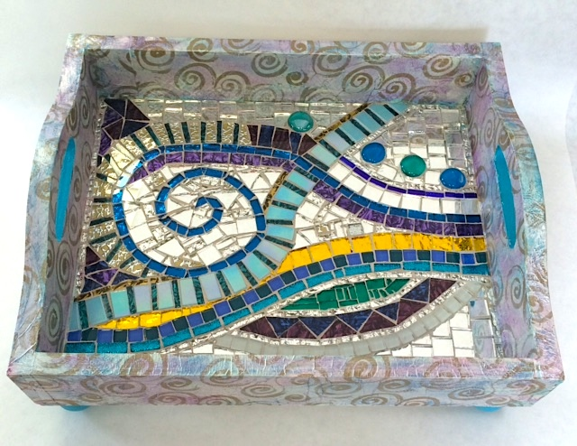 Mosaic Tray by Heidi Borchers
