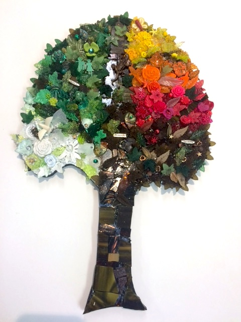 Mosaic Tree by Heidi Borchers