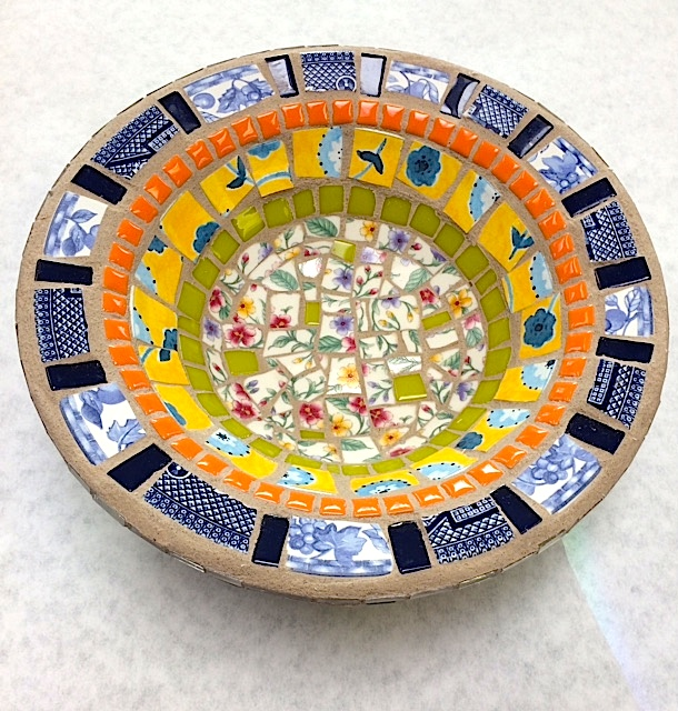 Mosaic Bowl by Heidi Borchers