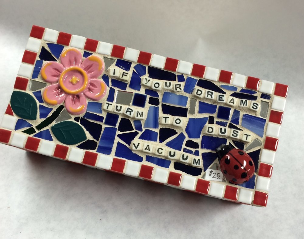 Mosaic Brick by Heidi Borchers