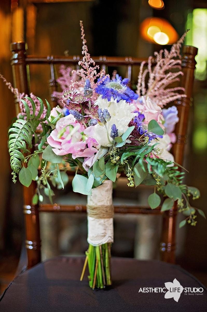 Candle Light Floral Design Thorpewood Wedding