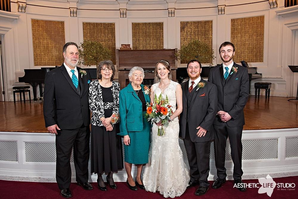 Wilson College Wedding Photography