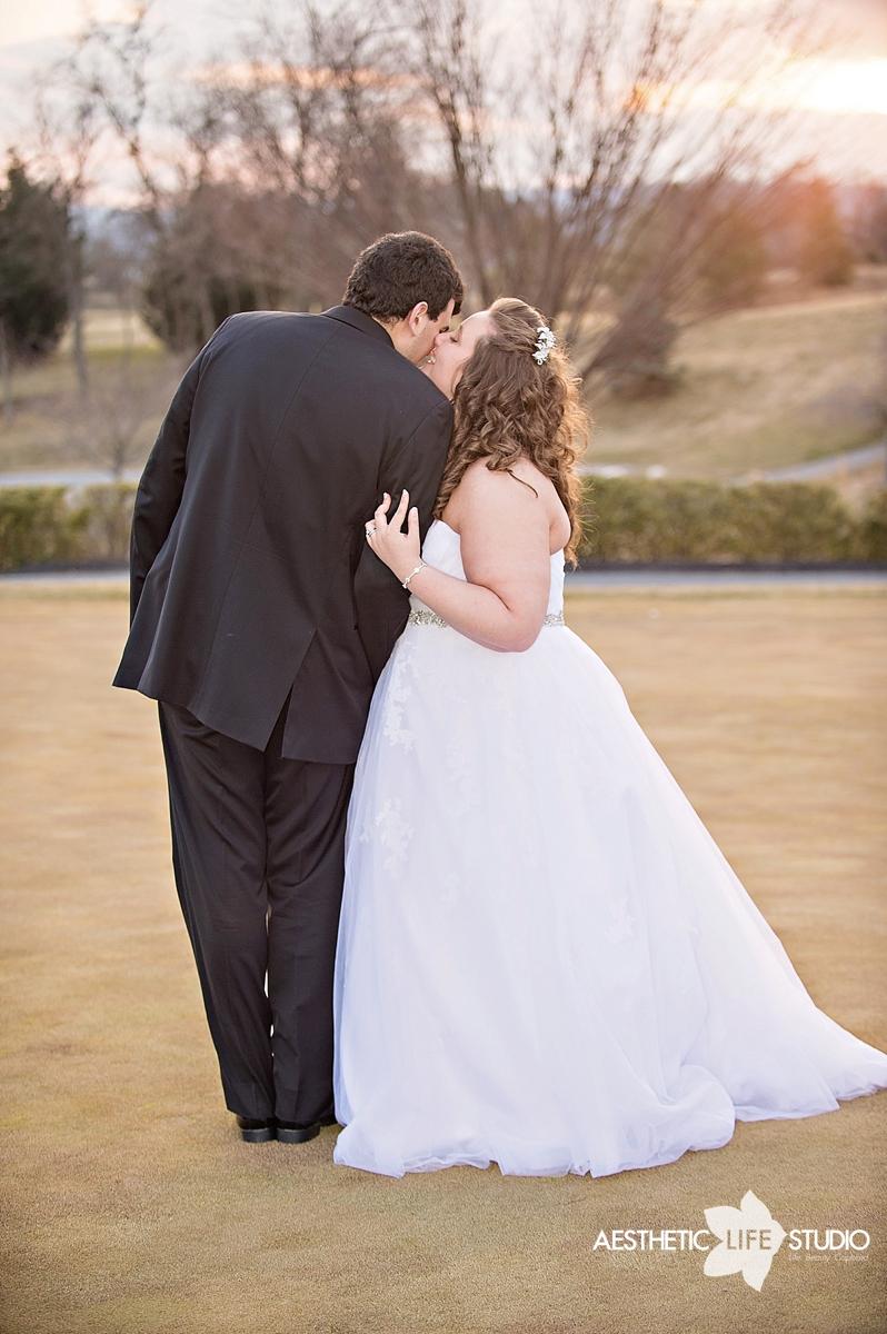 Hollow Creek Golf Club Wedding