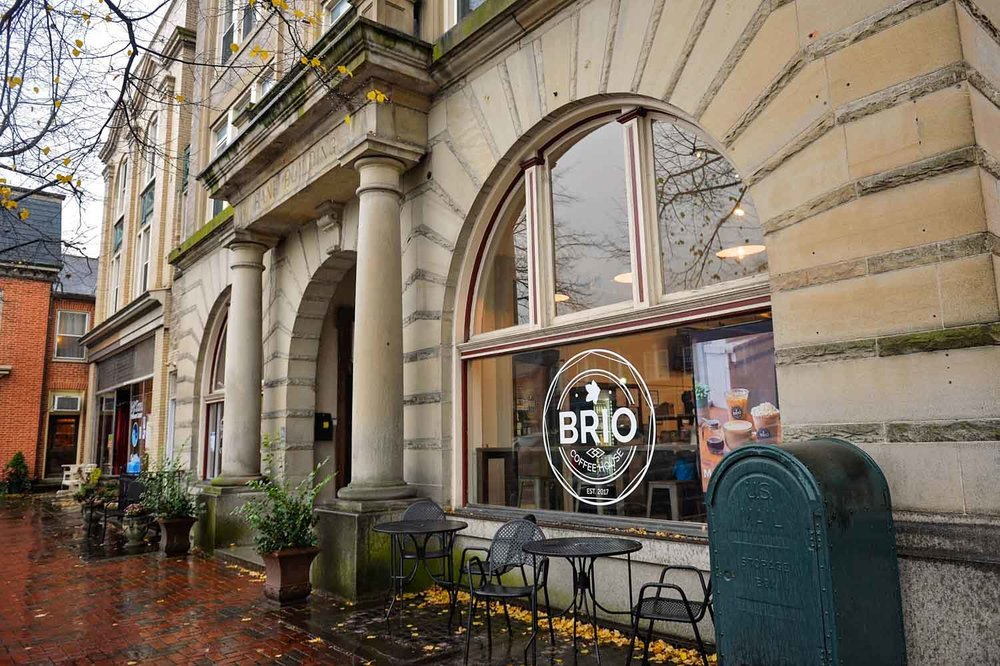 Brio Coffeehouse - investing in our community