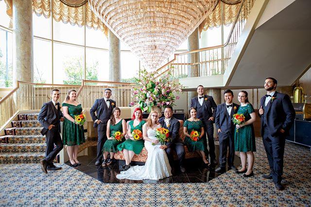 bridal party - by Lexi ⠀⠀⠀⠀⠀⠀⠀⠀⠀ ⠀⠀⠀⠀⠀⠀⠀⠀⠀ #weddingday #wedding #weddingwire #weddingphotogrphy #weddingphotographer #weddingphoto #bride
