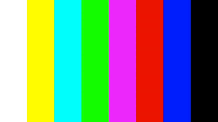 hd monitor calibration white balance and color bars