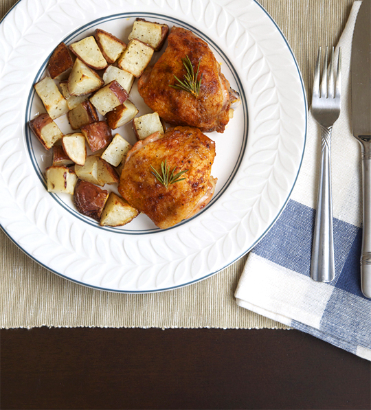 Buttermilk Roast Chicken — Plate and Pencil