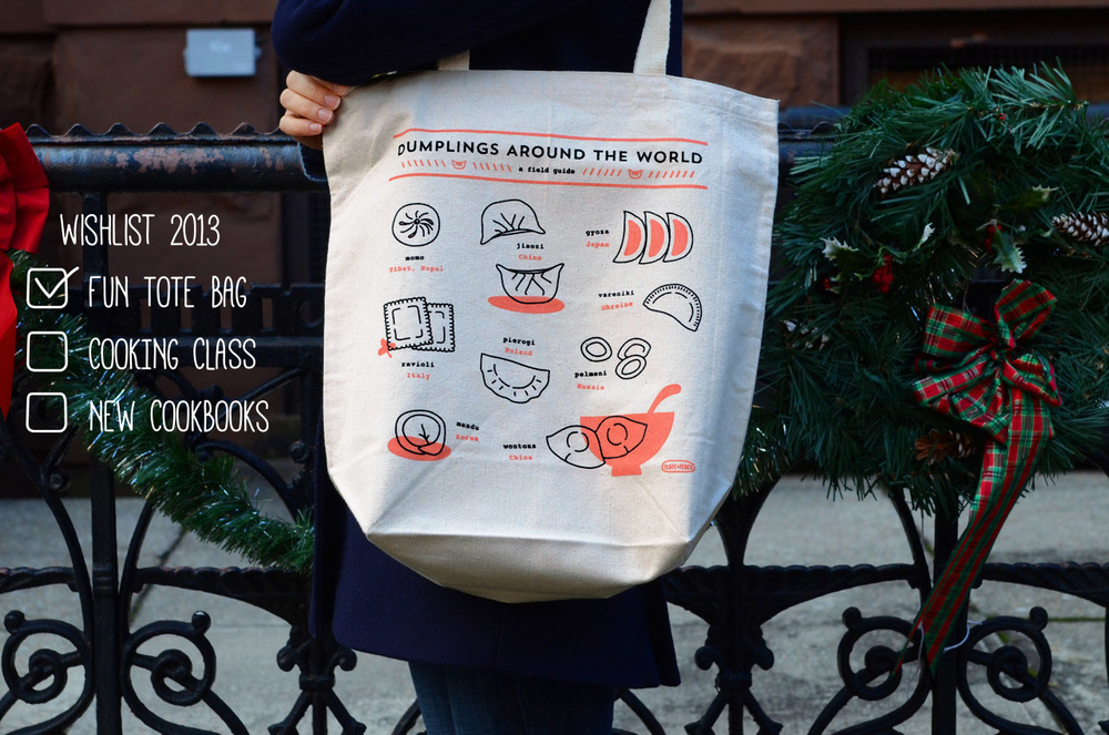 Dumplings Around the World Tote Bag | Plate & Pencil