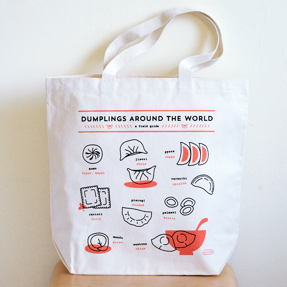 Dumplings around the world tote bag plate pencil dumplings around the world tote bag from plate pencil gumiabroncs Choice Image