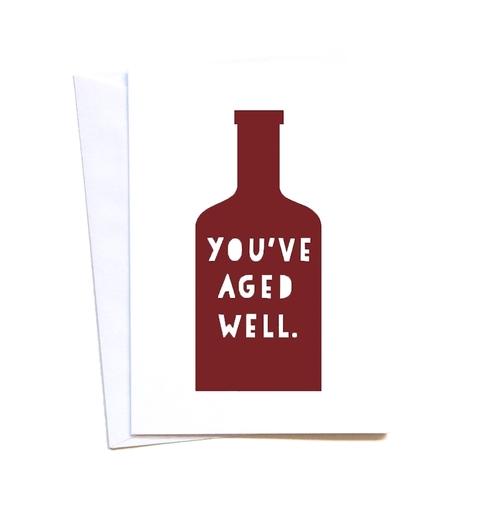 Wine Lovers Birthday Card