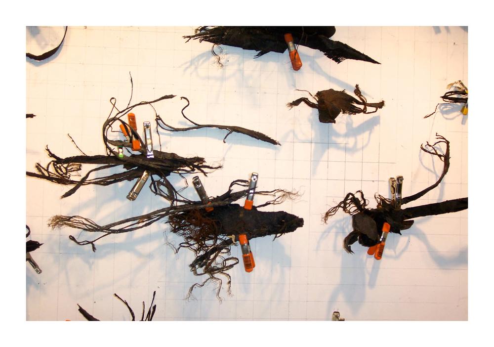 Line Swarm (609) , detail.