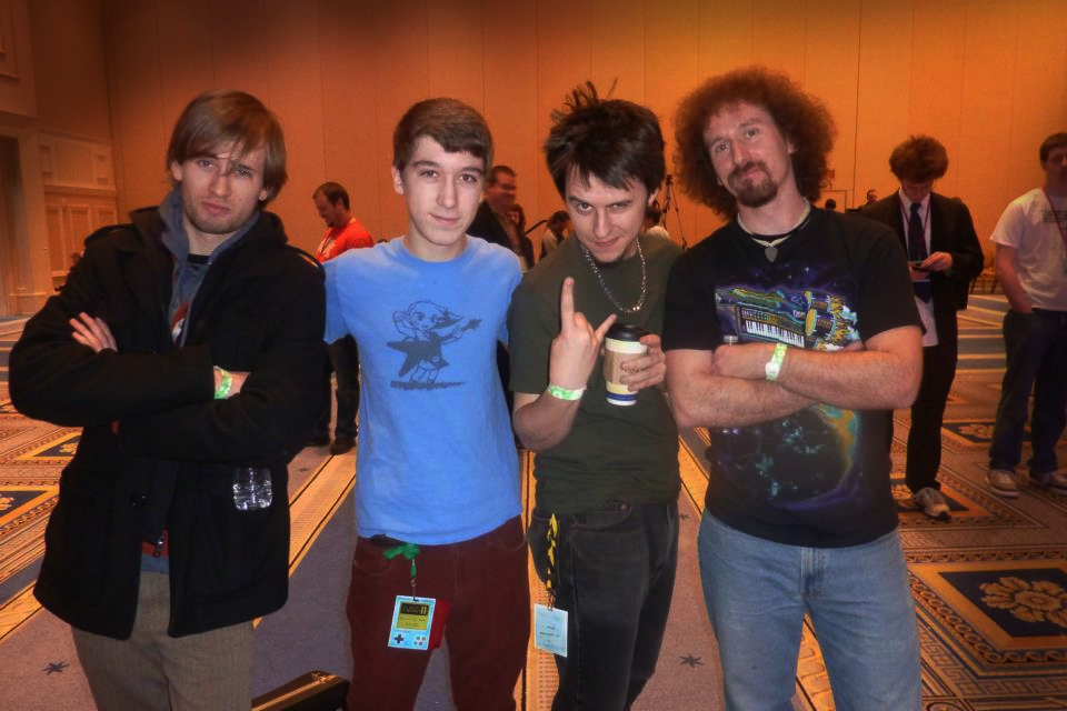 The Super Guitar Bros,   JAM2995  and Jules at MAGFest 11