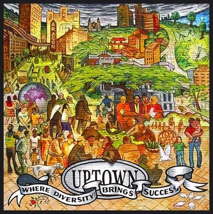 Chicago Uptown Neighborhood Mural 2005