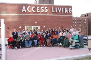 Access Living Board and Staff (Courtesy of Access Living)