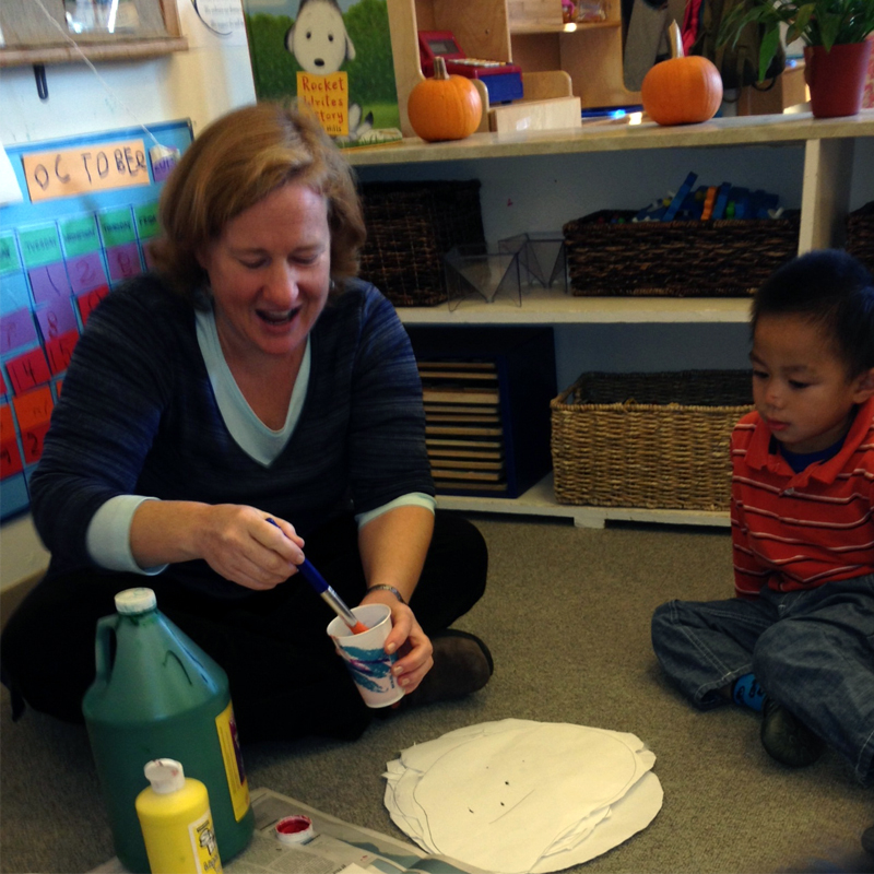 Courtney Shannon, Grade K/1 Co-Teacher, Reggio program Coordinator