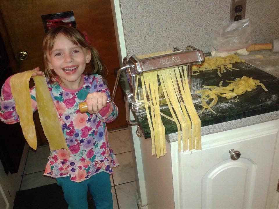 Thanks to Madison and the Ferrante family for the delicious homemade pasta. We definitely tasted the love!