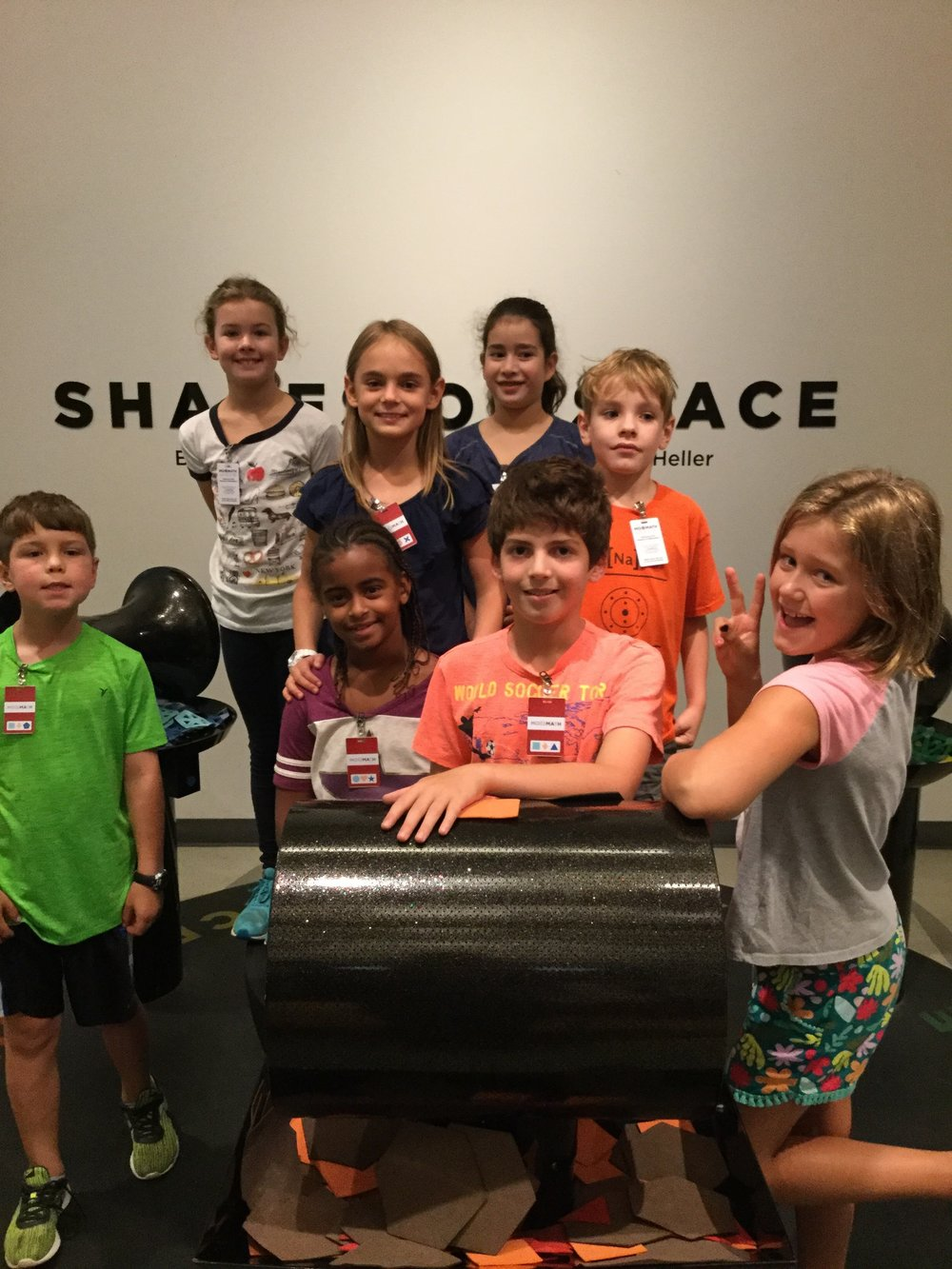 4th Graders at the National Museum of Mathematics
