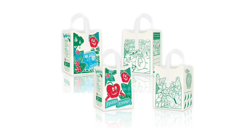 Apple totes