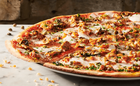 Pizza Express now uses it as a topping CREDIT: PIZZA EXPRESS
