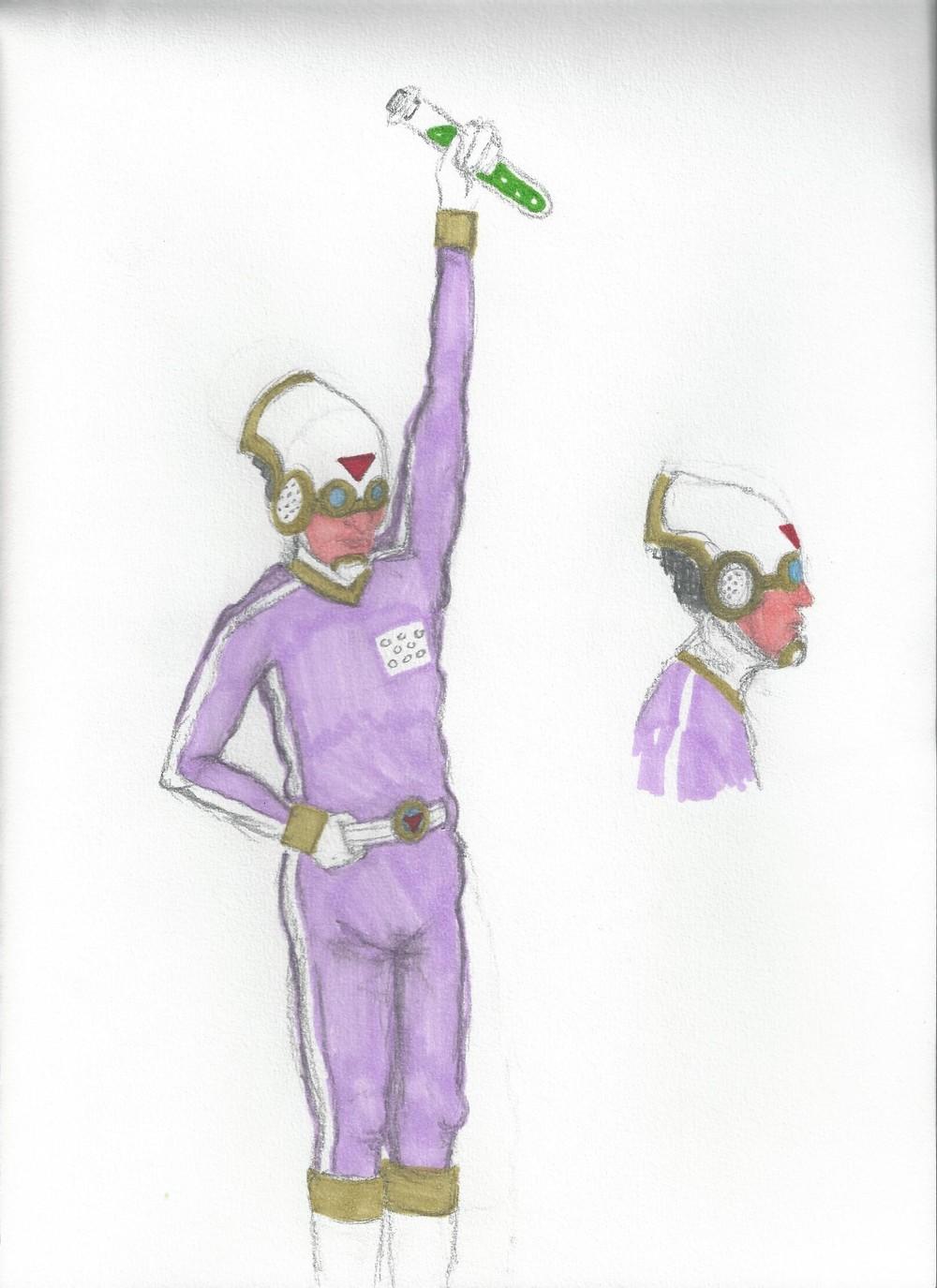 Pink Man Concept