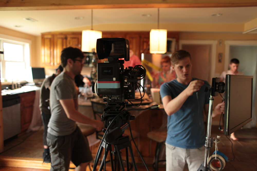 Tommy Bell (camera operator) and William Robinette (director of photography)