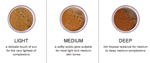 afterglow organic infused glow bronzer shades