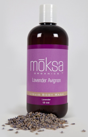 lavender-avignon-organic-body-wash by Moksa Organics