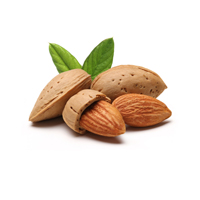 Almond oil is good for all skin types.