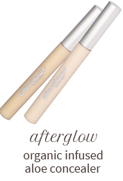 Afterglow organic infused aloe concealer