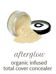Afterglow organic infused total cover concealer