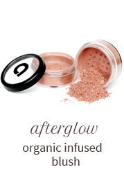 Afterglow organic infused blush