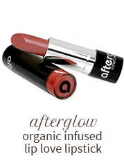 Afterglow organic infused lip love lipstick