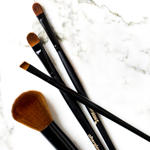 afterglow vegan brushes