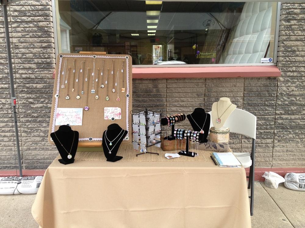 Small Business Sidewalk Sale - 5.18.13