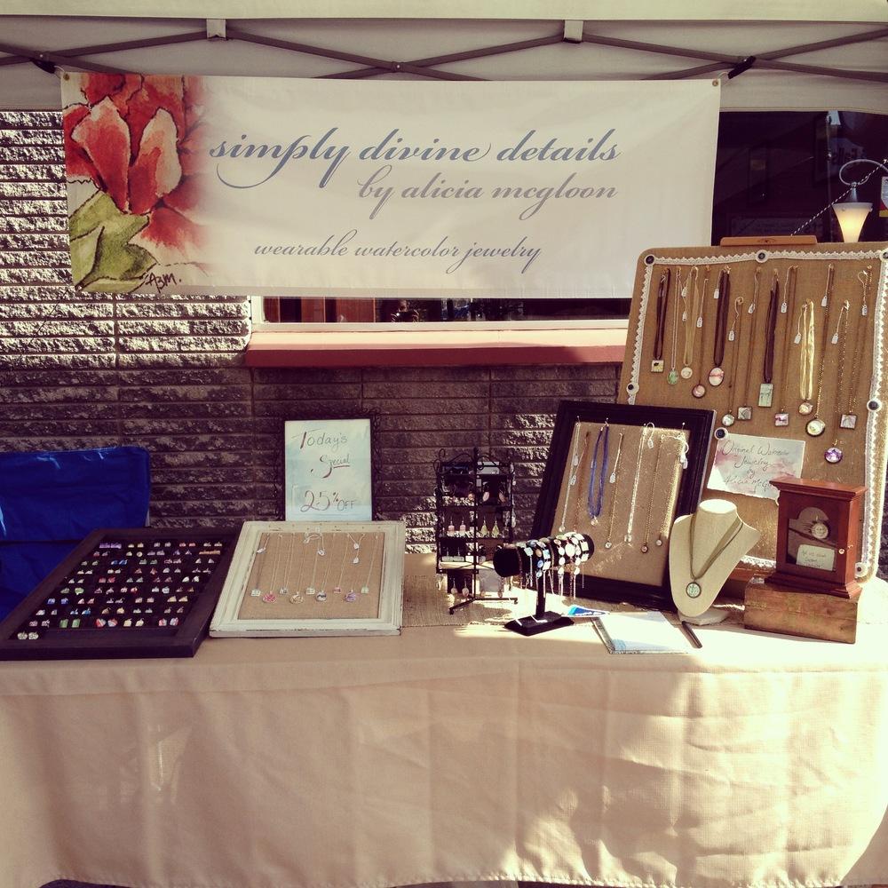 Small Business Sidewalk Sale - 8.17.13
