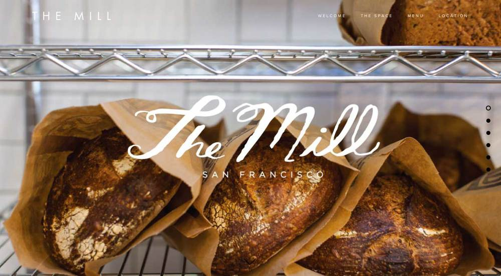 THE MILL WEBSITE
