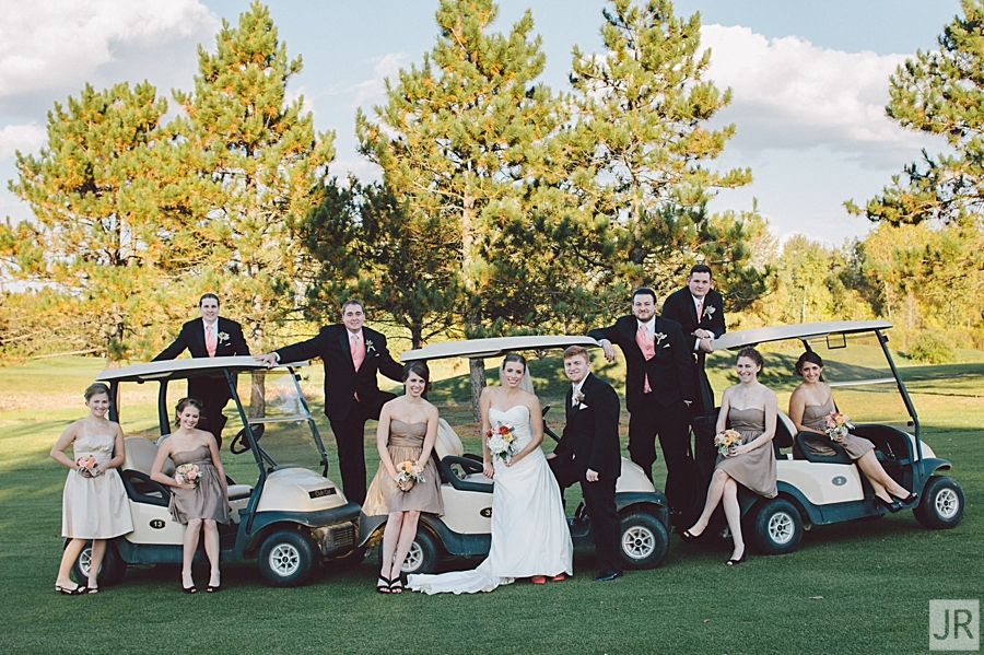 myth golf course wedding