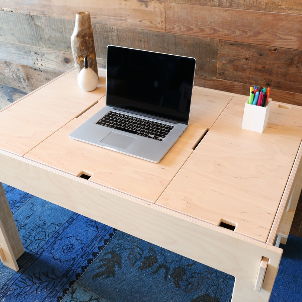 Storage-Top Desk -