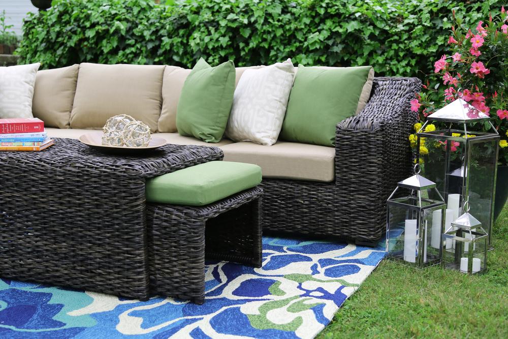 Williams 8 Piece Outdoor Sectional | AE Outdoor | Not Your Grandmau0027s Patio  Furniture | Sunbrella