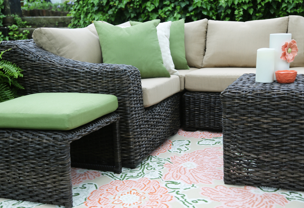 ... Williams 8 Piece Outdoor Sectional | AE Outdoor | Not Your Grandmau0027s Patio  Furniture | Sunbrella ...