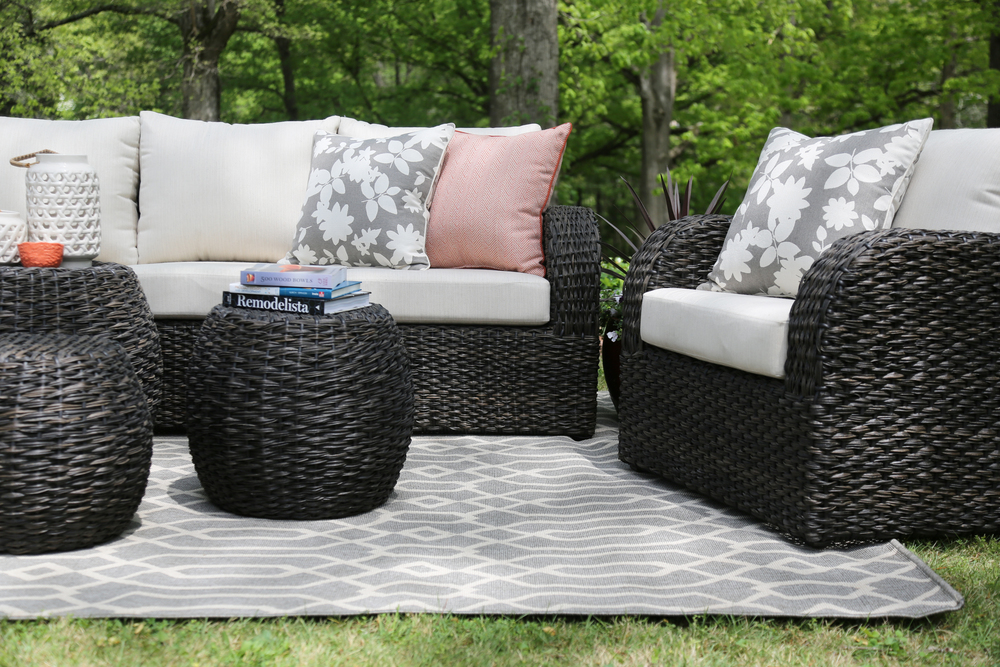 ... Sanford 6 Piece Outdoor Deep Seating Set | AE Outdoor | Not Your  Grandma's Patio Furniture ... - Sanford 6pc Deep Seating — AE Outdoor