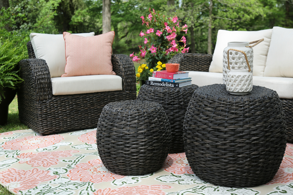 Copy Of Sanford 6 Piece Outdoor Deep Seating Set | AE Outdoor | Not Your  Grandmau0027s ...